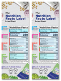 The Nutrition Facts Label Lowdown Poster Set Posters