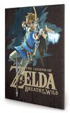 Zelda Breath of The Wild Game Cover Panneau en bois