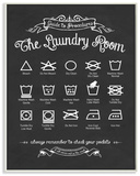 The Laundry Room Guide Wood Sign