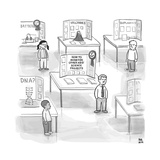 "At a science fair, first place goes to a child whose project reads ""How to... - New Yorker Cartoon Stretched Canvas Print by Paul Noth"