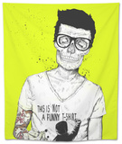 Hipsters Not Dead Tapestry by Balazs Solti
