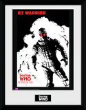 Doctor Who- Spacetime Tour Ice Warrior Collector-tryk