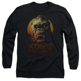 Long Sleeve: Kong: Skull Island- Kong Close Up T-Shirt