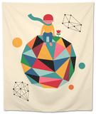 Lonely Planet Tapestry by Andy Westface