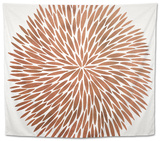 Burst in Rose Gold Palette Tapestry by Cat Coquillette