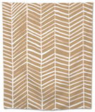Herringbone - Kraft Tapestry by Cat Coquillette