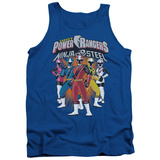 Tank Top: Power Rangers: Ninja Steel- Team Lineup Tank Top