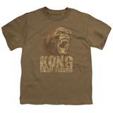 Youth: Kong: Skull Island- Distressed Kong T-shirts