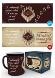 Harry Potter - Marauder's Map Heat Change Mug Taza