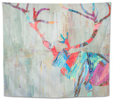 Rhizome Deer Tapestry by Ann Marie Coolick