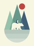 Bear You Reproduction procédé giclée par Andy Westface