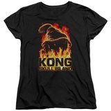 Womans: Kong: Skull Island- Out Of The Fire Shirts