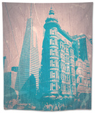San Francisco Tapestry by  NaxArt