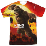 Kong: Skull Island- Attack Of The King T-Shirt