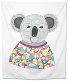 Cute Hipster Koala. Tapestry by cherry blossom girl