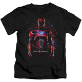 Juvenile: Power Rangers- Energized Red Ranger Shirts