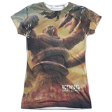Juniors: Kong: Skull Island- Jungle Fight T-Shirt