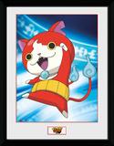 Yo-Kai Watch- Jibanyan Stampa del collezionista