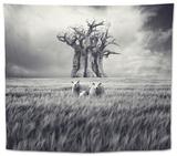 Mydog Tapestry by Luis Beltran