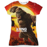 Juniors: Kong: Skull Island- Attack Of The King T-Shirt
