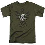Kong: Skull Island- Sky Devils Crest Shirts