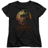 Womans: Kong: Skull Island- Kong Close Up Shirt