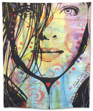 My Eyes Cant See U Tapestry by Dean Russo