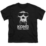 Youth: Kong: Skull Island- Prmial Skull T-Shirt