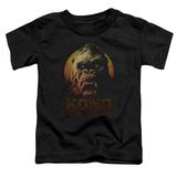 Toddler: Kong: Skull Island- Kong Close Up T-shirts