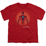 Youth: Power Rangers- Prismatic Red Ranger T-Shirt