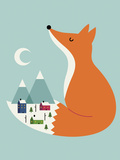 Winter Dreams Giclee Print by Andy Westface