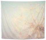 Dandelion Dreams Tapestry by Laura Evans