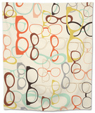 Seamless Background from Sunglasses. Tapestry by  Ladoga