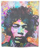 Hendrix 6 Was 9 Tapestry by Dean Russo