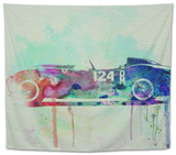 Ferrari Testa Rossa Watercolor 2 Tapestry by  NaxArt