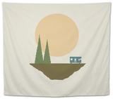 Sunny Day for Camping Tapestry by Tammy Kushnir