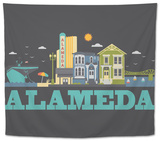 City Living Alameda Asphalt Tapestry