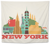 City Living New York Natural Tapestry