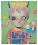 Children of This Planet 32 Tapestry by Hikari Shimoda