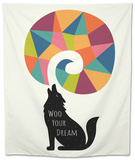 Woo Your Dream Tapestry by Andy Westface