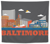 City Living Baltimore Asphalt Tapestry