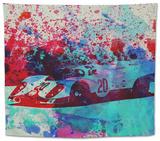 Porsche 917 Gulf Tapestry by  NaxArt