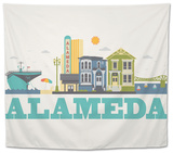 City Living Alameda Natural Tapestry