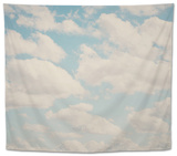 Fluffy Skies ... Tapestry by Laura Evans