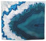 Blue Brazilian Geode Tapestry by Dario Lo Presti