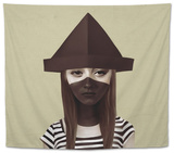 Ceci N'Est Pas Un Chapeau Tapestry by Ruben Ireland