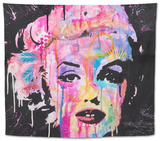Marilyn Monroe Tapestry by Dean Russo