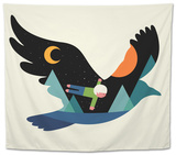 I Believe I Can Fly Tapestry by Andy Westface