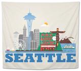 City Living Seattle Natural Tapestry