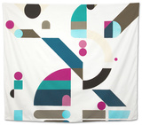 Elevation Tapestry by Antony Squizzato